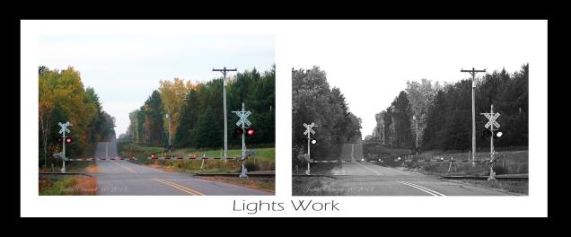 lights work