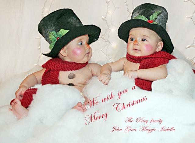 8170 5x7 wish you merry christmas
