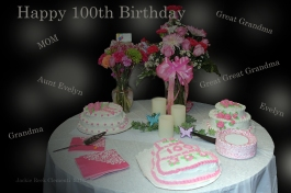 Happy 100th Birthday Aunt