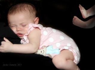 sleeping beauty piggy toes