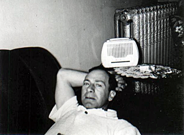 Dad and radio