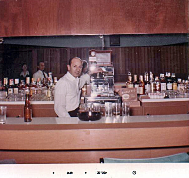 Dad at Philadoras 1964