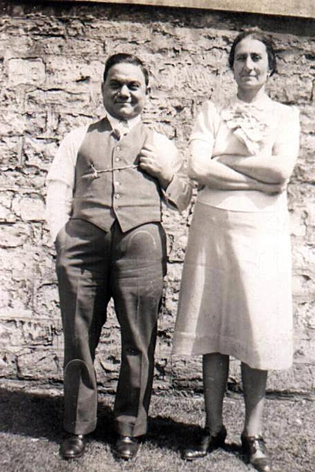 Grandpa and Grandma Stefano and Lucia Clementi 2